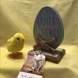 Rae Dunn EASTER BLESSINGS Sign